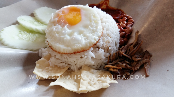 Wordless Wednesday: Lunch OLDTOWN Nasi Lemak Classic
