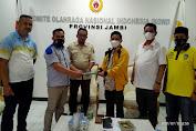 Mosi Tidak Percaya Berlanjut, 21 Pengurus Cabor Kabupaten Tebo Temui Ketua KONI Provinsi