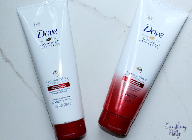 Restore Damaged Hair With Dove Regenerative Nourishment