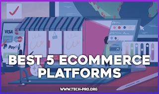 Best 5 Ecommerce Platforms 2021