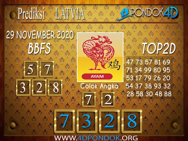 Prediksi Togel LATVIA PONDOK4D 29 NOVEMBER 2020
