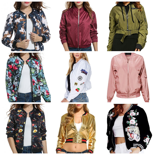 Bomber Jackets for Spring