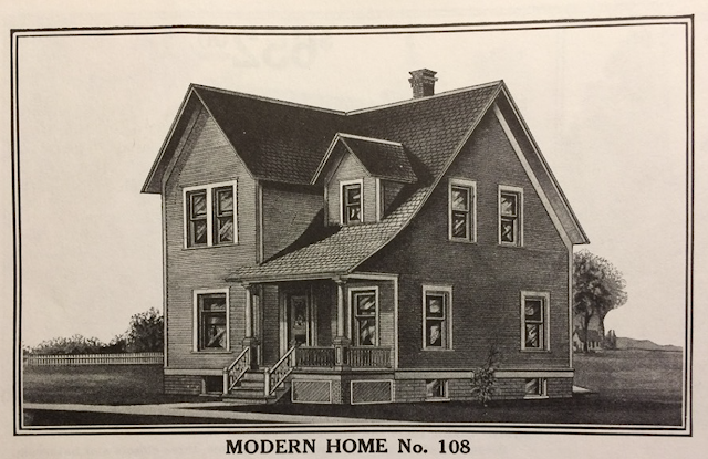 1912 catalog image of the Sears No. 108
