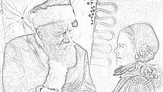 Miracle on 34th Street coloring pages holiday.filminspector.com