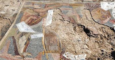 Ρωμαϊκό ψηφιδωτό ανακαλύφθηκε στην Κεντρική Τουρκία