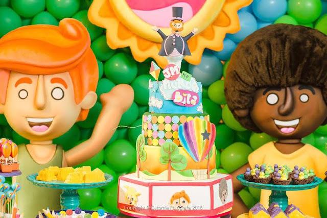 Decoração de festa infantil inspirado no Mundo Bita