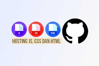 Cara Upload File JavaScript, HTML dan CSS di GitHub