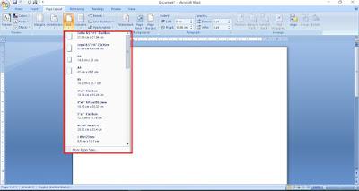 Cara Mengatur Ukuran Kertas di Microsoft Word Serta Satuanya