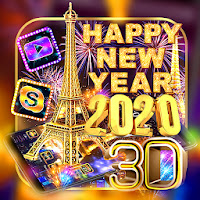 2020 New Year Live 3D Theme Apk free Download for Android