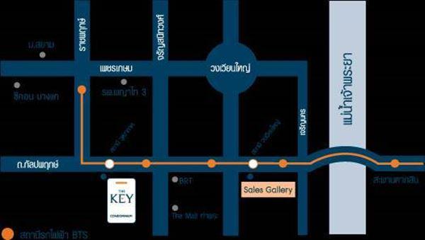 ขายคอนโด เดอะคีย์ สาทร ราชพฤกษ์ The Key Sathorn - Ratchapruek ใกล้รถไฟฟ้า BTS วุฒากาศ 2.35 ล้าน ขายพร้อมผู้เช่า