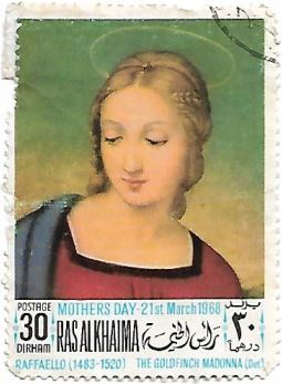 Selo The Goldfinch Madonna