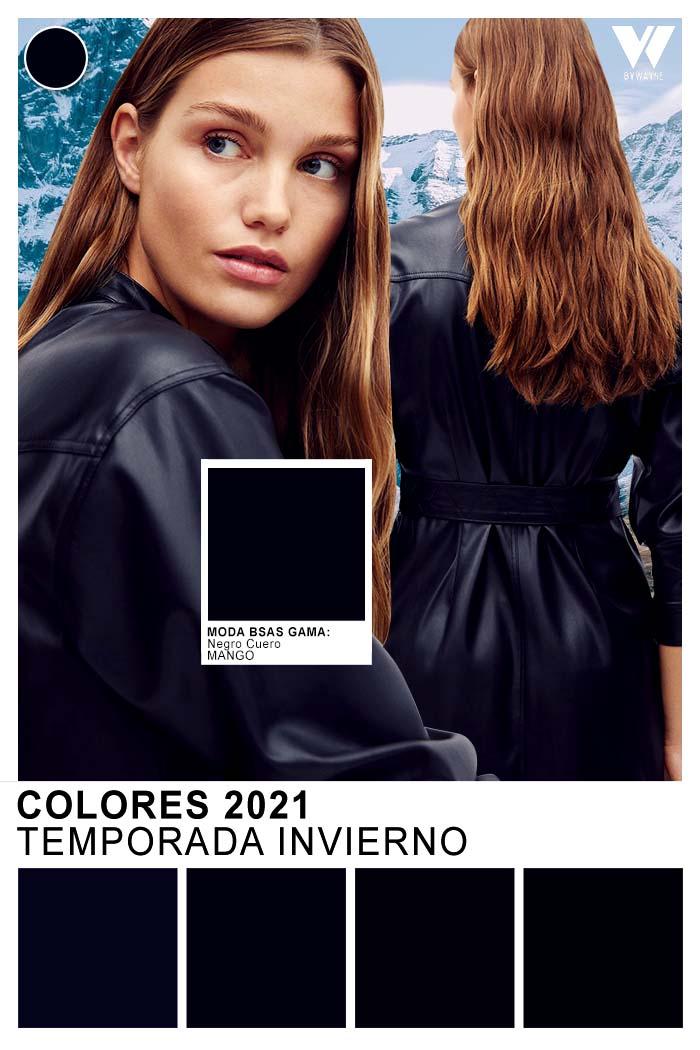 Ropa de moda mujer colores de moda 2021 invierno
