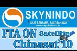 SKYNINDO FTA on Chinasat 10 - SKYNINDO FTA di Chinasat 10