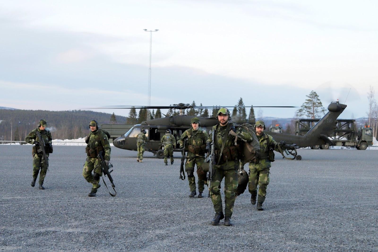 Livgardet, övning i Härnösand och Höga kusten, foto Maria-Thérèse Sommar