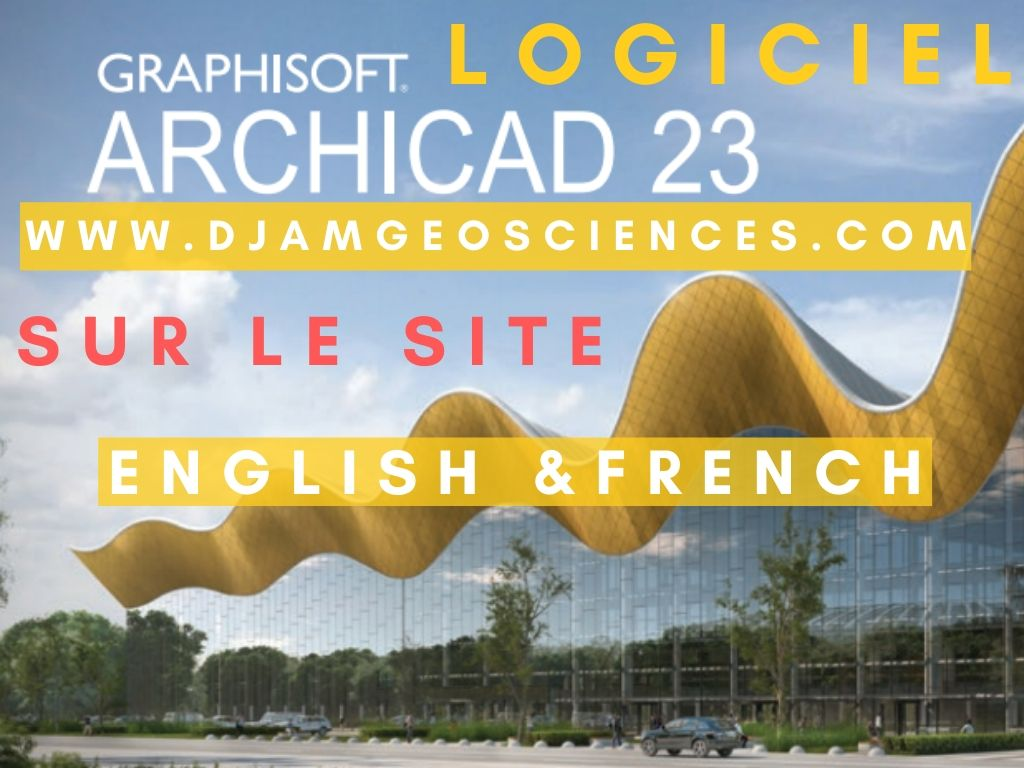 ARCHICAD 23 INSTALLATION ET ACTIVATION SANS PROBLEMES FRENCH AND ENGLISH