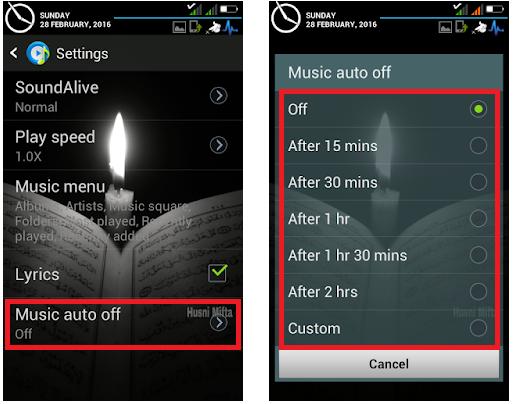 Cara Mengatur Sleep Timer Musik Otomatis di Android dengan Tanpa Aplikasi