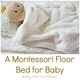 Montessori Floor Bed for  Baby
