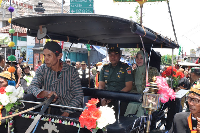 Dandim Klaten Ikuti Perayaan Ya Qowiyu Bersama Gubernur Jateng Dan Bupati Klaten