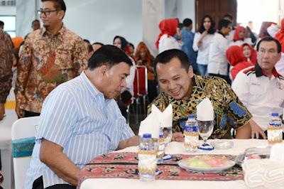 Bicang Santai dengan Gubernur Lampung, Sjahroedin : Membangun Bukan Hanya Lewat Infrastruktur, Karena Silaturahmi juga Bagian Pembangunan