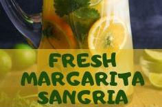FRESH MARGARITA SANGRIA