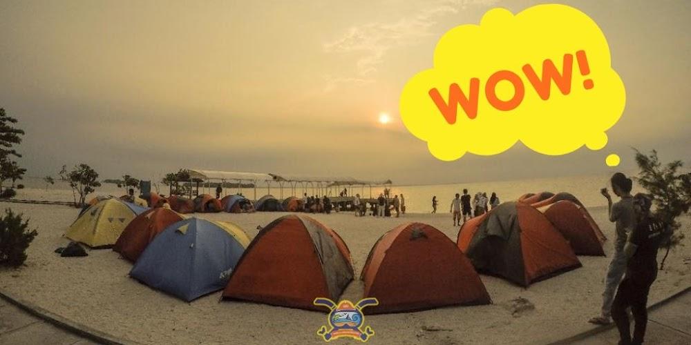 jelajah pulau dan camping pulau kelor serta akustik