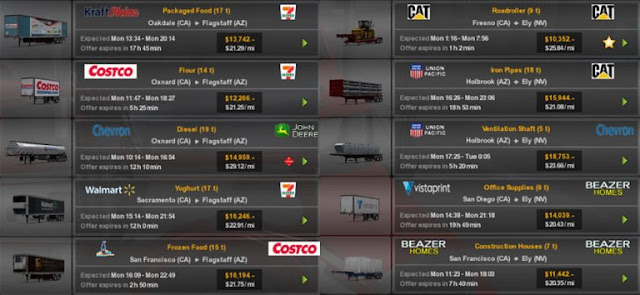 recommendedmodsats, ats mods, ats realistic mods, ats real companies, ats real trailers, american truck simulator mods, ats 1.32, ats real companies and trailers mod screenshots2