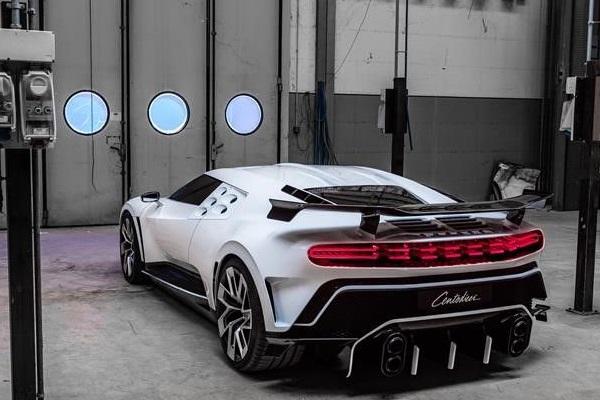 Bugatti Centodieci Cristiano Ronaldo