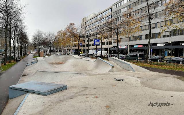 Skatepark westblaak rotterdam
