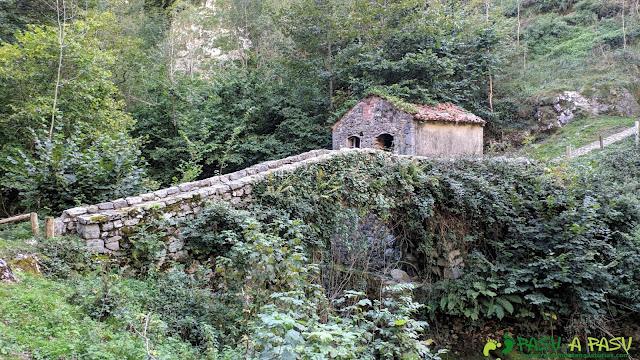 Puente Saleras, Tielve, Cabrales