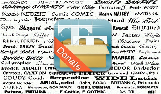 download ifont donate