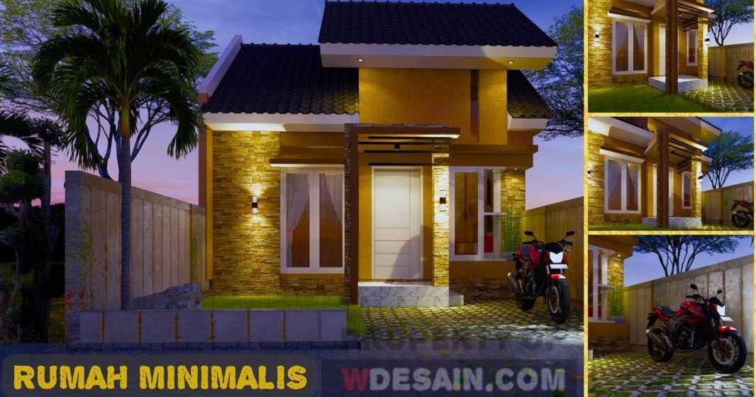 Rumah Minimalis 6x12 3 Kamar Tidur Desain Rumah Minimalis
