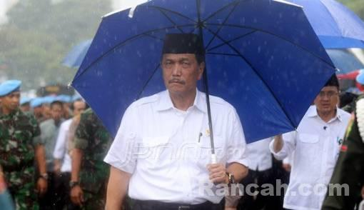 Janggal, Luhut Panjaitan Tak Nampak di Pertemuan Jokowi dan Prabowo