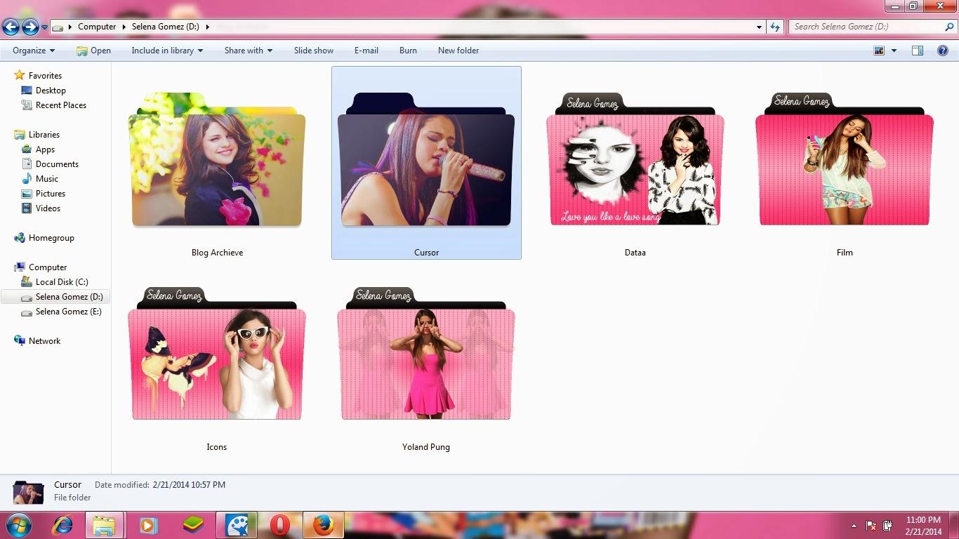 I M Just A Girl Cara Gampang Download Folder Icon Lucu
