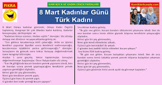 En Komik Fıkralar - Karı Koca ve Kadın Erkek Fıkraları - 8 Mart Kadınlar Günü Türk Kadını - komiklerburada