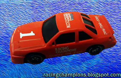 1989 Racing Champions #1 Red promo 1/64 NASCAR diecast blog