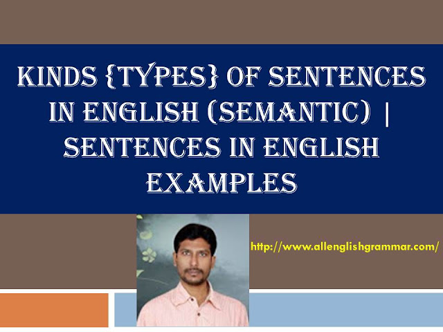 sentences-in-English-examples