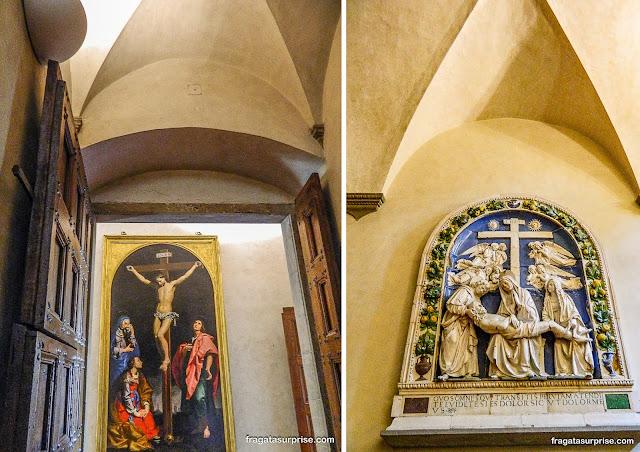 Acervo de arte sacra do Museu de San Marco, em Florença
