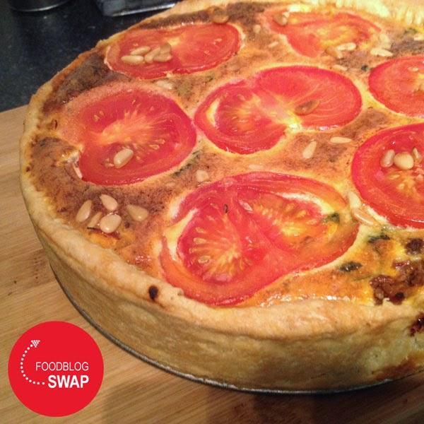 Foodblogswap: mediterrane quiche