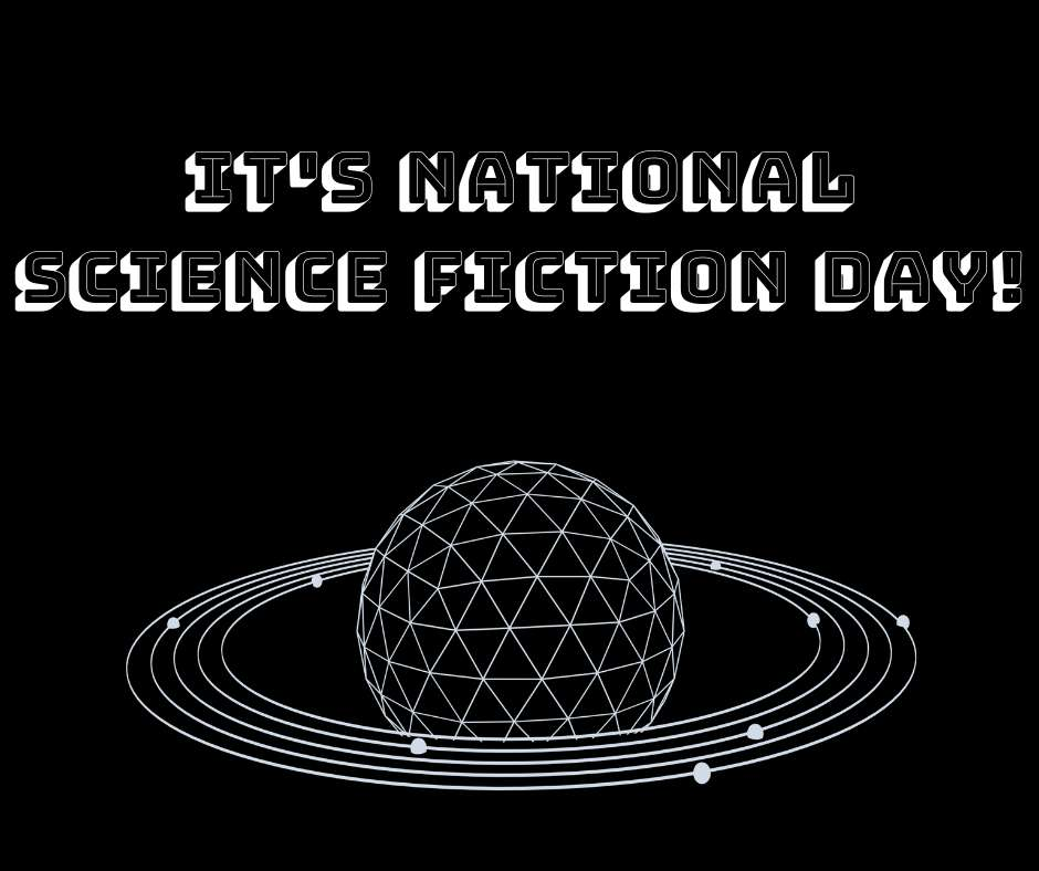 National Science Fiction Day Wishes Beautiful Image