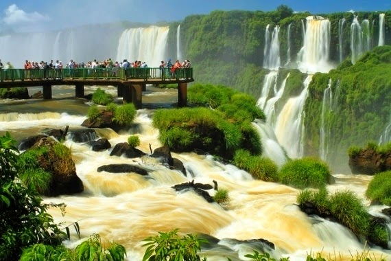#6. Iguazu Waterfalls in Brazil and Argentina. - 19 Secret Travel Destinations You Never Knew Existed… Almost Nobody Knows About #17.