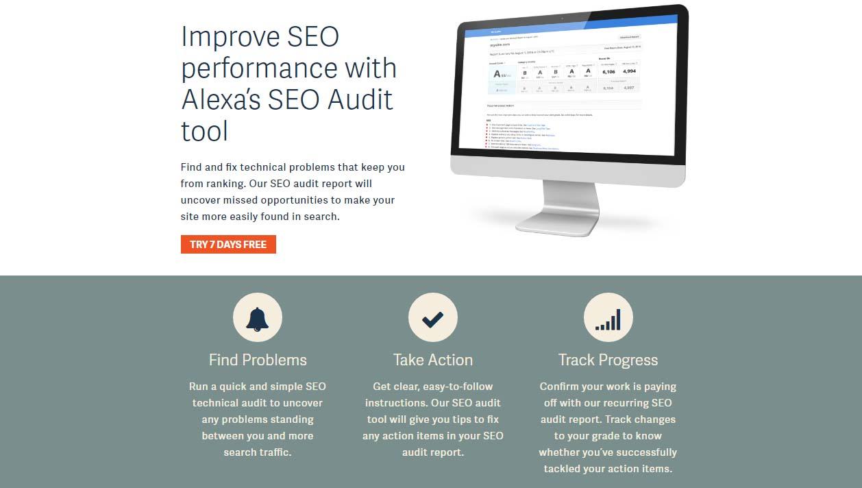 alexa seo audit tools