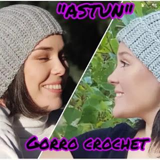 Gorro Astun a Crochet
