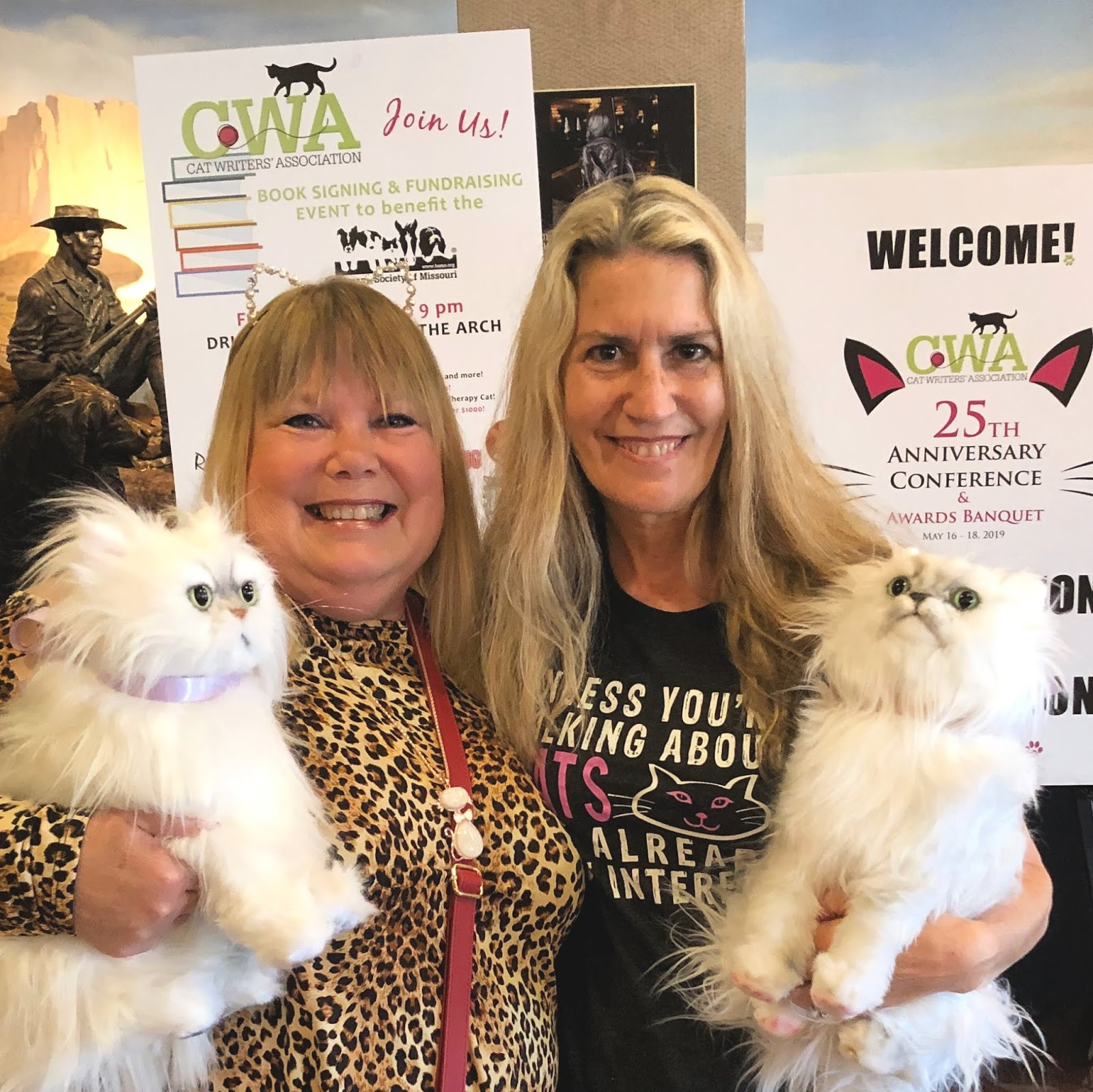 Sweet Purrfections: Experiencing the Cat Writers' Association