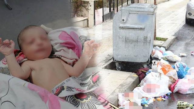 Молодая мама выбросила крошечного ребенка в мусоропровод, его спасло чудо!
