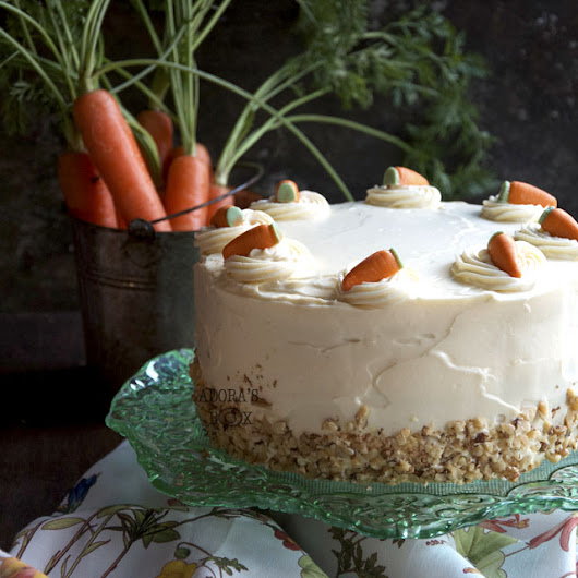THE BEST CARROT CAKE