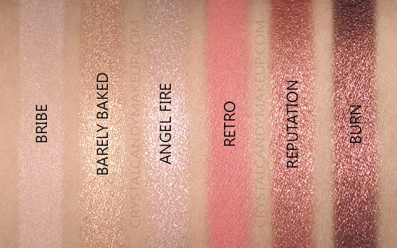 Palette Fards Naked Reloaded Urban Decay Avis Swatches