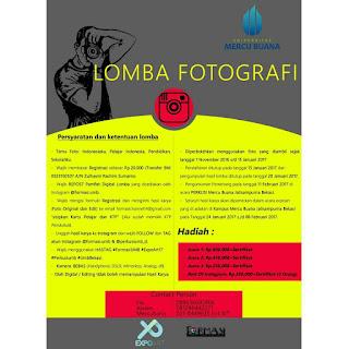 Lomba Fotografi 2017 di Universitas Mercu Buana