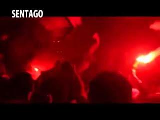 الوايت نايتس يغنون لأحمد الأحمر كيفك بإستقبال الوايت نايتس للكوماندوز