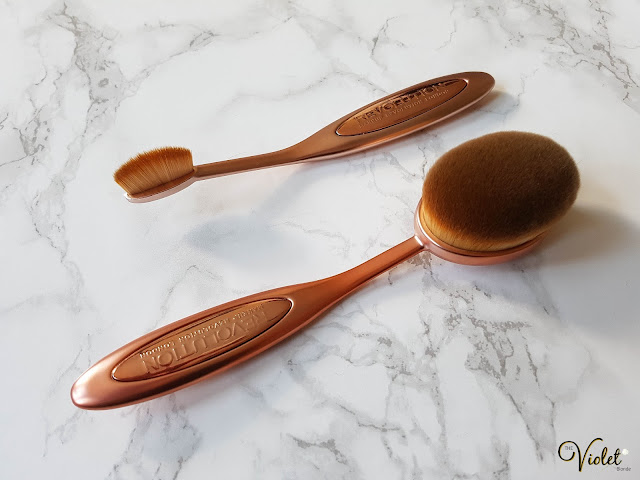 Makeup Revolution oval brushes