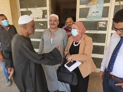 وكيل وزارة الصحة بسوهاج تتفقد وتتابع عدد من الوحدات الصحيه بالمحافظة